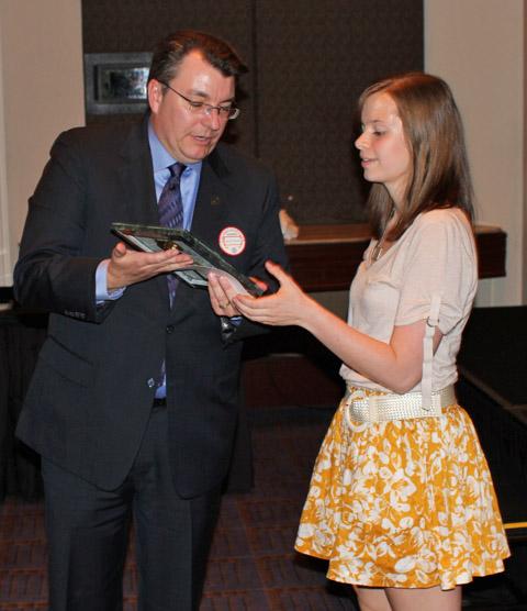 Katie Reinders 2011 exhibit award