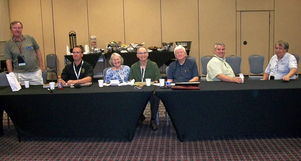 Club Reps at ANA 2012 meeting
