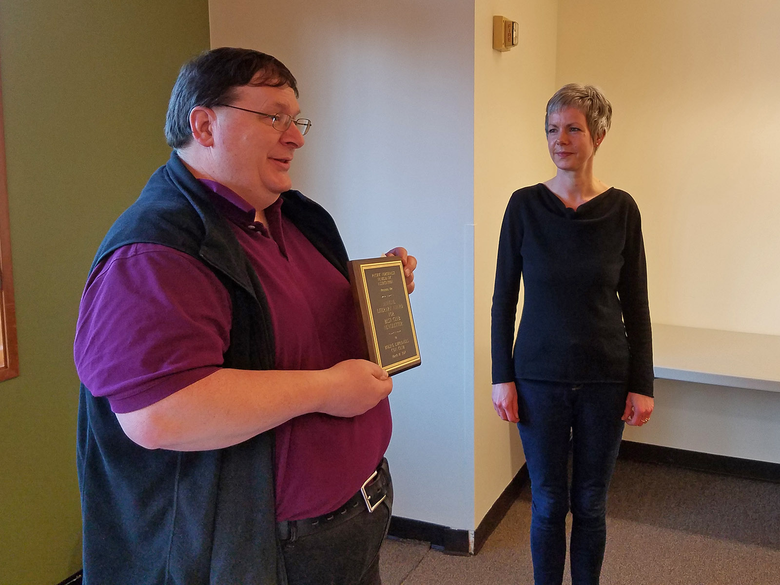 Truus Lagerman/BECC - 2017 literary award for club newsletter