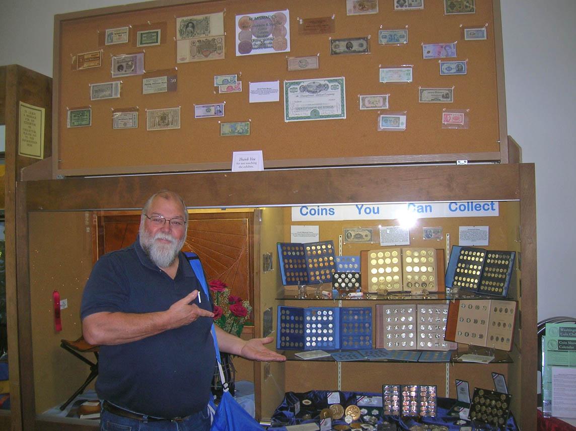 Rick Schulz at Puyallup Fair